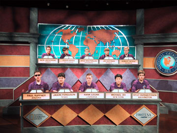 The National Geographic Bee, produced for Maryland Public Television and The National Geographic Society